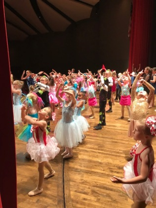 Young Dancers at Finale